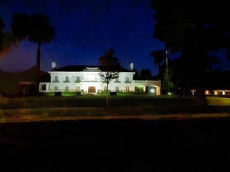 Wrigley Mansion Pasadena by Joseph Hollingsworth