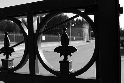 Wrought iron details by Maureen Jordan