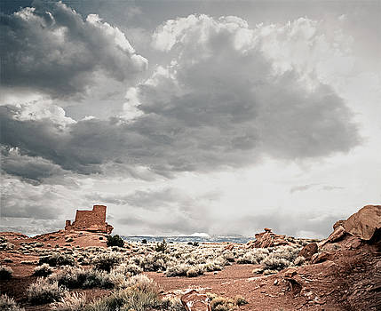 Wupatki Pueblo by James Rasmusson