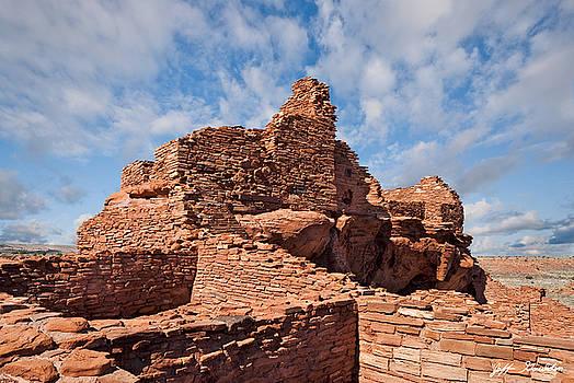 Wupatki Pueblo Ruins by Jeff Goulden