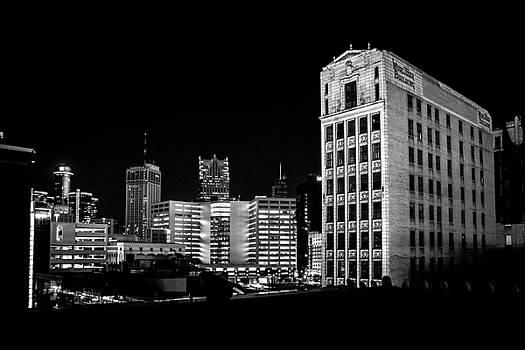Wurlitzer Building - Detroit Skyline by Rod  Arroyo
