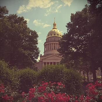 WV Statehouse Polaroid by Noah Browning