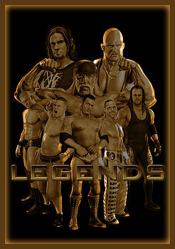 WWE Legends by GBS by Anibal Diaz