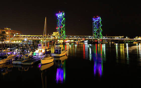 WWI Memorial Bridge Blue-Green by Tim Kirchoff