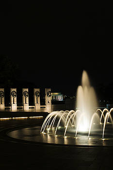 WWII Memorial Fountain by Angela DeFrias