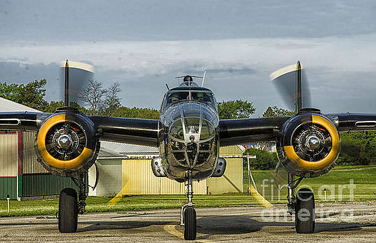 Wwii B-25 by JRP Photography