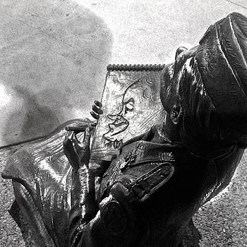 World War II Nurse Sketching Bob Hope by D Renee Wilson