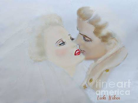 WWII Soldier and Bride by Vicki Wilcox