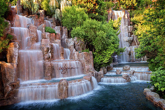 Wynn Waterfalls by Ricky Barnard