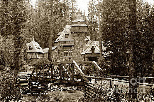 California Views Archives Mr Pat Hathaway Archives - Wyntoon Hearst summer home on the McCloud River circa 1906