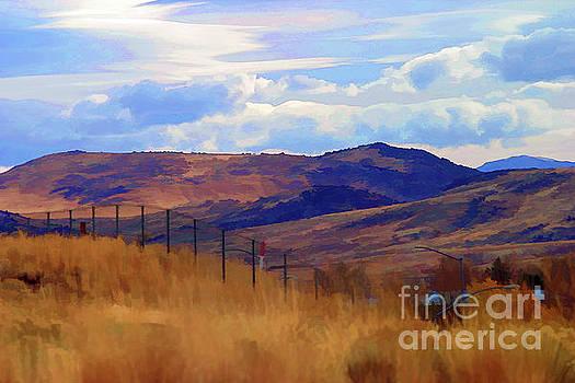Chuck Kuhn - Wyoming Landscape I