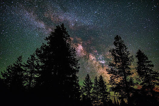 Wyoming Milky Way by Darren White