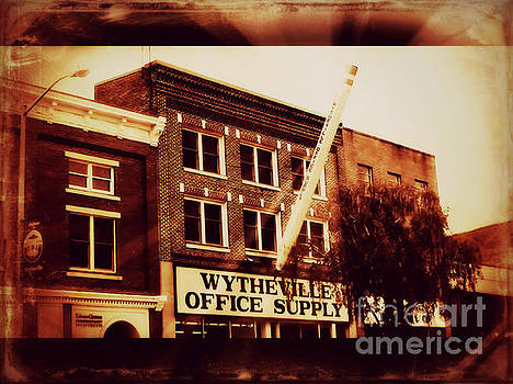 Wytheville Office Supply Sepia by Karen Francis