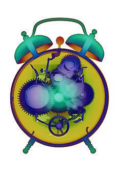 Roy Livingston - X-ray Alarm Clock No. 5