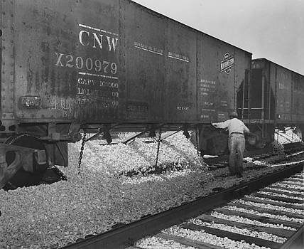 Chicago and North Western Historical Society - Chicago and North Western Car X200979 With Ballast