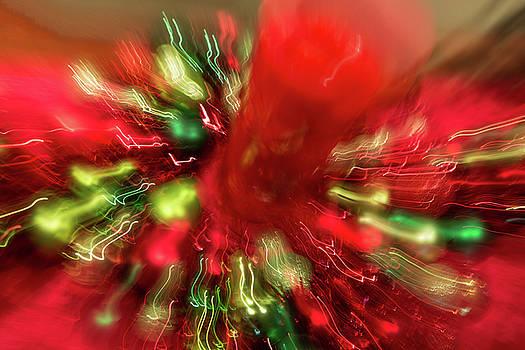 Xmas Burst 2 by Rebecca Cozart