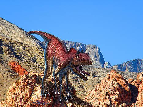 Frank Wilson - Xuanhanosarus In The Desert