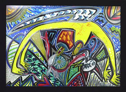 Xxxkull Patterns II by Rufus J Jhonson
