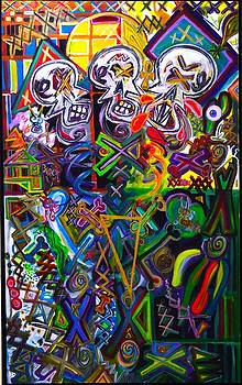 Xxxkull The Xxxiamese Twins  by Rufus J Jhonson