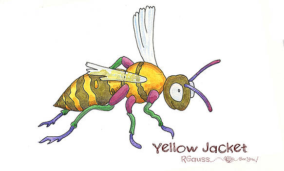 Y is for Yellow Jacket by Rose Gauss