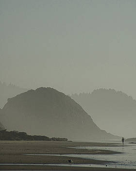 Yachats Morning by Helen Worley