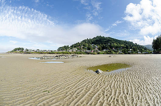Margaret Pitcher - Yachats River at Low Tide