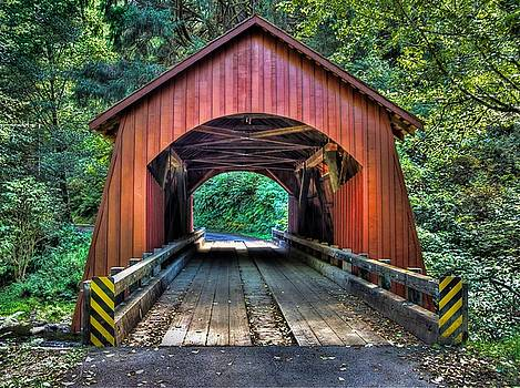 Thom Zehrfeld - Yachats River Covered Bridge