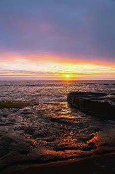 Yachats Sunset by Tyra OBryant