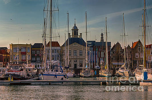 Yacht Marina at Sunset, Vlissingen  HDR by Sinisa CIGLENECKI