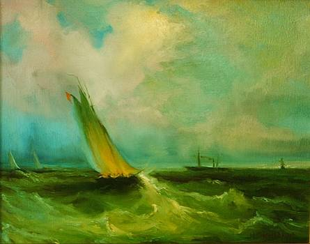 Yachting by Michael Chesnakov