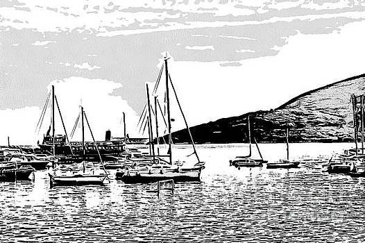 yachts in Montenegro by Yury Bashkin