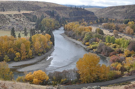 Yakima River Colors by Brent Easley