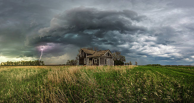 Yale Supercell pano  by Aaron J Groen
