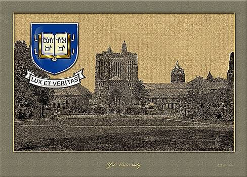 Serge Averbukh - Yale University Building with Crest