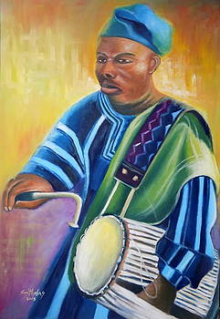 Yanga Drummer by Olaoluwa Smith