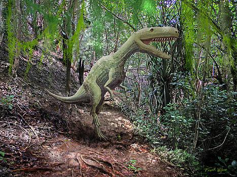 Frank Wilson - Yangchuanosaurus In Jungle