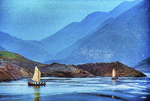 Dennis Cox - Yangtze River Junks