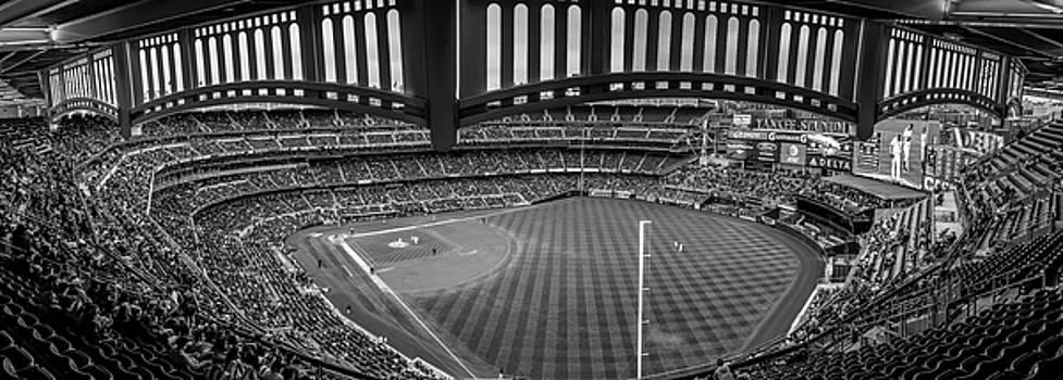 Yankee Stadium Black and White  by John McGraw