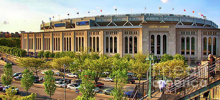 Yankee Stadium Exterior Panorama by Nishanth Gopinathan
