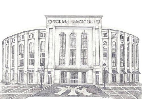 Yankee Stadium by Juliana Dube