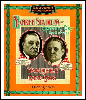 Yankee Stadium Opening Day Program by Peter Gumaer Ogden Collection