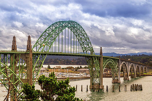 Yaquina Bay Bridge by James Eddy