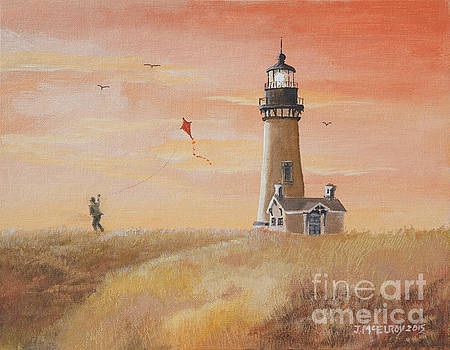 Yaquina Head Lighthouse by Jerry McElroy