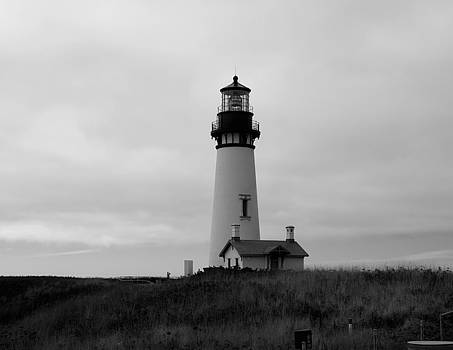 Yaquina Head Lighthouse by Lawrence Birk