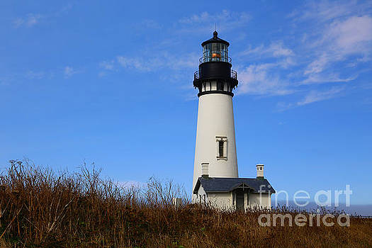 Yaquina Head Lighthouse by Marty Fancy