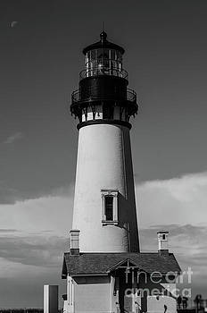 Yaquina Light  by Along The Trail