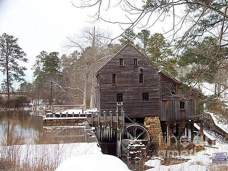 Yates Mill in Winter by Kevin Croitz