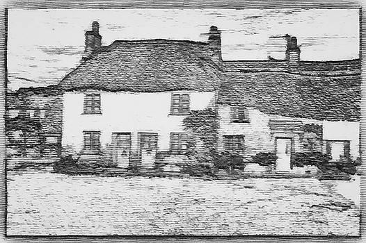 Ye Olde English Home Sketch by Mario Carini