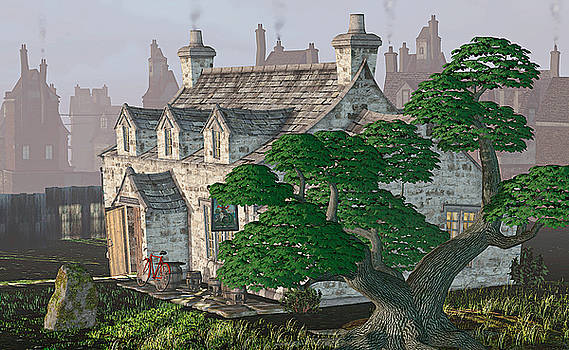 Ye Olde Pub by Peter J Sucy