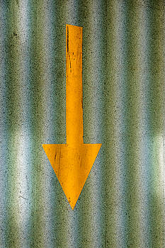 Yellow Arrow by David Ridley
